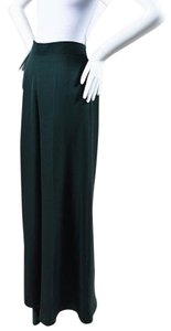 Valentino Dark Teal Wide Leg Pants
