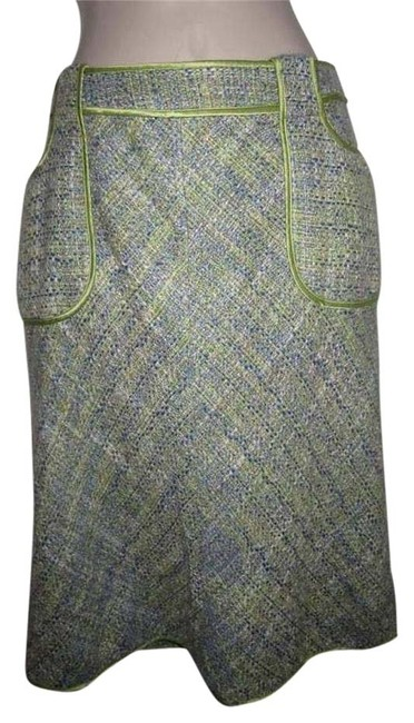 Preload https://img-static.tradesy.com/item/20304383/wdny-tweed-in-blues-greens-and-browns-newer-skirtsdesigner-clothes-midi-skirt-size-10-m-31-0-1-650-650.jpg
