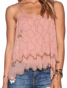 Free People Top peach