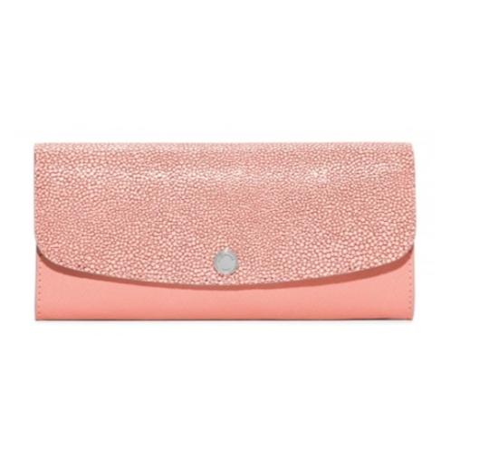 Preload https://img-static.tradesy.com/item/20304439/michael-kors-pale-pink-juliana-large-color-block-saffiano-leather-wallet-0-0-540-540.jpg