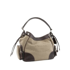 Prada Tote in Beige, Brown