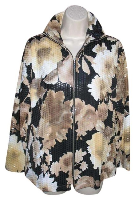 Preload https://img-static.tradesy.com/item/20304648/misook-black-multi-exclusively-floral-zip-front-clear-paillettes-xs-size-2-xs-0-1-650-650.jpg