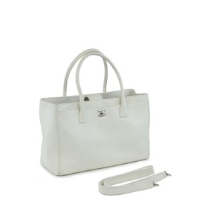 Chanel Executive Luxury Cc Tote in Ivory