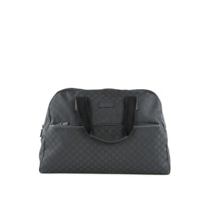 Gucci Weekender Travel Duffle Holdall Black Travel Bag