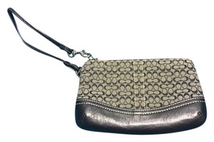 Coach Wristlet Black Clutch