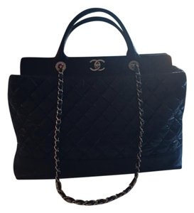 Chanel Leather Removable Straps Shoulder Bag