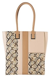 White House | Black Market Leather Tote in Brown
