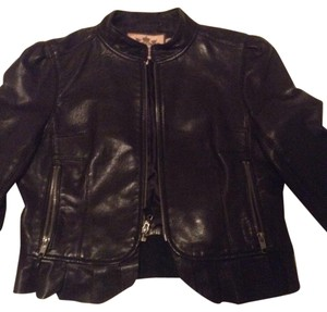 Juicy Couture brown Leather Jacket