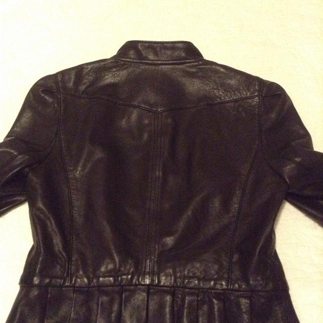 Juicy Couture brown Leather Jacket Image 2