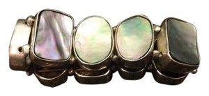Abalone Stretch Bracelet Wide Abalone Stretch Bracelet!