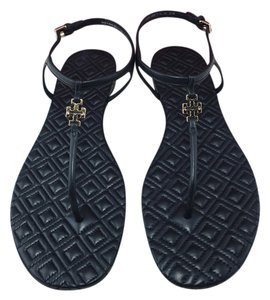 Tory Burch Marion Black Sandals