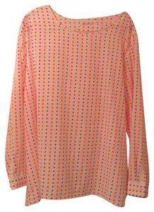 Gap Top white/pink/orange