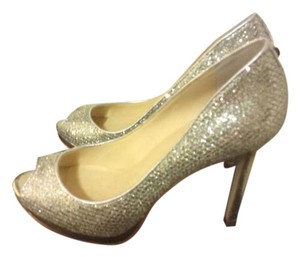 Ivanka Trump Gold/silver Pumps