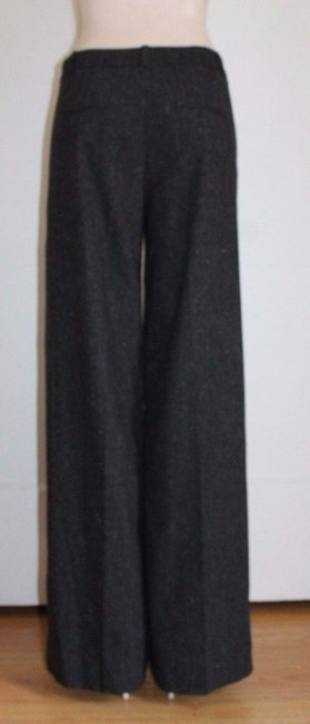 Banana Republic Wide Leg Business Charcoal Trouser Pants GRAY Image 1