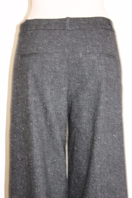 Banana Republic Wide Leg Business Charcoal Trouser Pants GRAY Image 4
