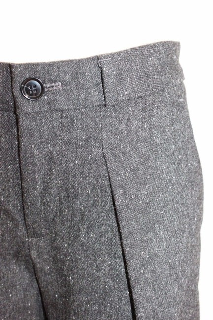 Banana Republic Wide Leg Business Charcoal Trouser Pants GRAY Image 5