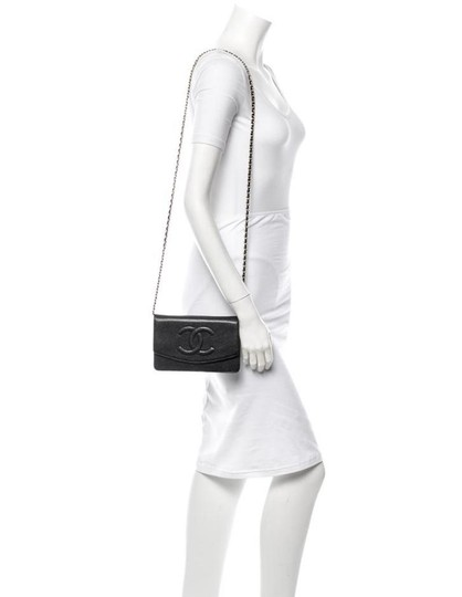 Chanel Woc Timeless Flap Wallet On A Chain Classic Cross Body Bag Image 10