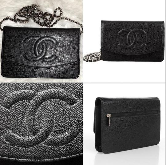 Chanel Woc Timeless Flap Wallet On A Chain Classic Cross Body Bag Image 2