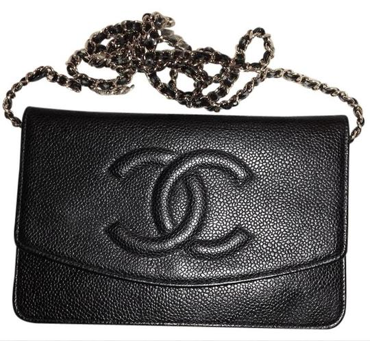 Chanel Woc Timeless Flap Wallet On A Chain Classic Cross Body Bag Image 3