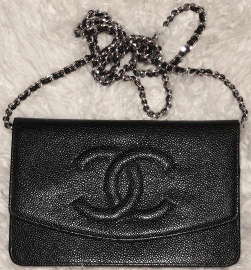Chanel Woc Timeless Flap Wallet On A Chain Classic Cross Body Bag Image 7