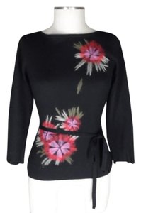 Kenneth Cole Tunic Embroidered Sweater