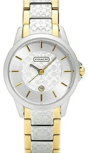 Coach COACH WOMEN'S TWO-TONE BRACELET WATCH