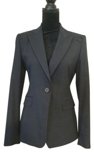 Elie Tahari Wool Tailored Navy/slate Blazer