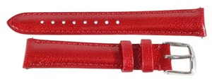 Michele Michele MS16AA050615 Deco 16mm Red Patent Leather Watch Strap
