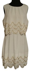 Ted Baker short dress off white on Tradesy