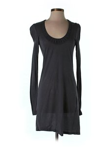 French Connection short dress Longsleeve Scoop-neck Shift Sheath Ruffle on Tradesy