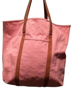 J.Crew Tote in Pink/Brown