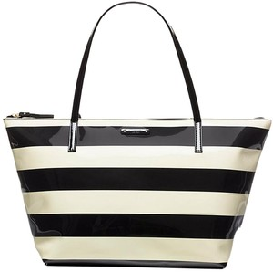 Kate Spade Tote in black, cream
