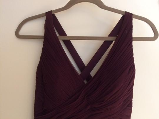BHLDN Deep Amethyst Tulle Edith By Hitherto Bridesmaid/Mob Dress Size 4 (S) Image 1
