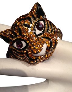 Betsey Johnson Retired? Jungle Tiger Stretch Bracelet