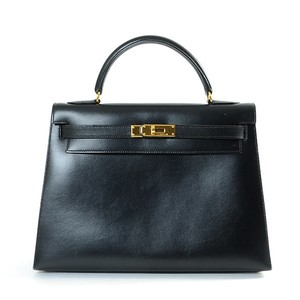 Hermès Tote Satchel in Black