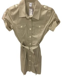 Calvin Klein Cargo Safari Shirt Dress