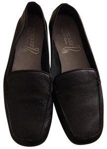 Aerosoles Comfortable Office Work Black Flats