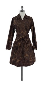 Diane von Furstenberg short dress Brown Leopard Print Wrap on Tradesy