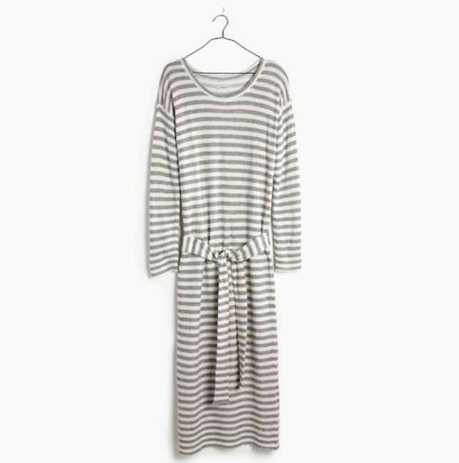 Gray Maxi Dress by Madewell Image 1