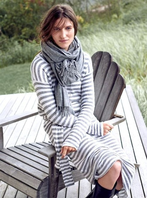 Gray Maxi Dress by Madewell Image 4