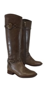 Tory Burch Light Brown Tall Leather Boots
