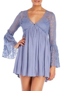 Free People short dress periwinkle blue on Tradesy