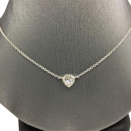Preload https://img-static.tradesy.com/item/20306274/sterling-silver-white-gold-rhodium-bezel-heart-necklace-0-1-540-540.jpg