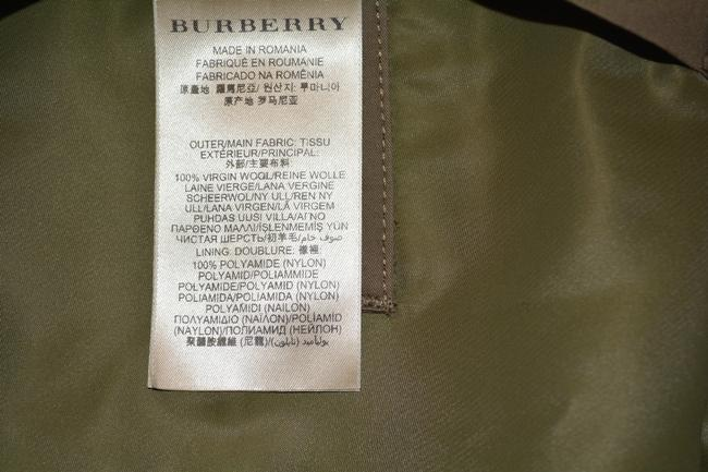 Burberry Mens Jacket Wool Trench Coat Image 5