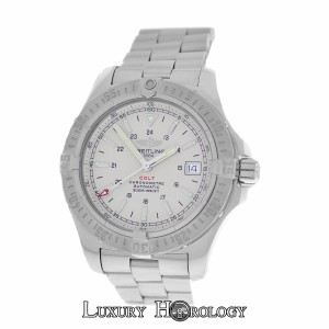Breitling Mint Men Breitling Colt A17380 Steel 500M Date 41mm Automatic