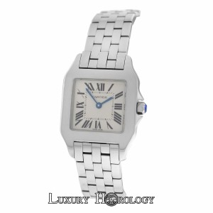 Cartier Authentic Ladies Cartier Santos Demoiselle 2701 Stainless Steel