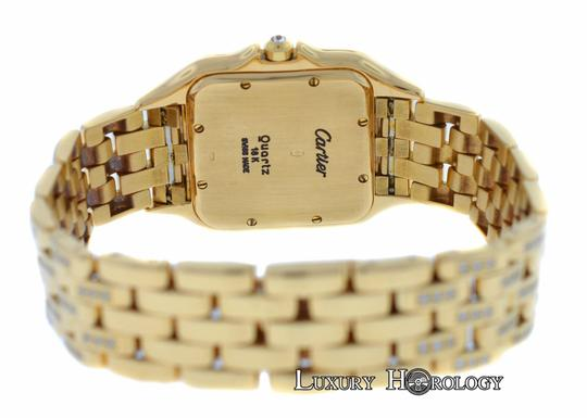 Cartier Ladies Midsize Cartier Panthere 18K Yellow Gold Diamonds 27mm Date