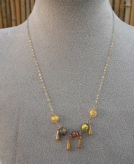 MICHAEL ANTHONY MICHAEL ANTHONY Design 14K Yellow Gold Venetian Murano Glass Beads Necklace