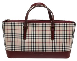 Burberry Satchel in Cream Multicolor