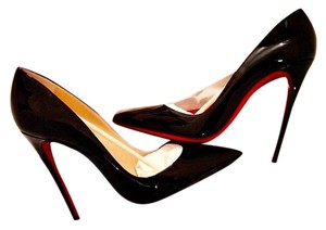 Christian Louboutin Louboutins Red Soles Pointy Toe Classic Black Pumps